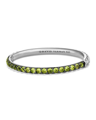 David Yurman 5mm Osetra Bangle with Stones