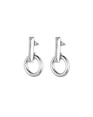 Eddie Borgo O-Ring Day Drop Earrings