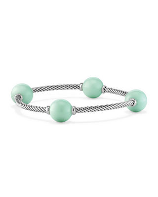 David Yurman 12mm Mustique Four-Station Bracelet