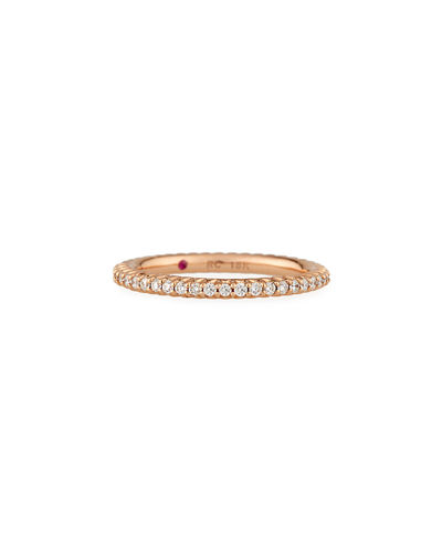 gold zinafinejewelry row eternity pin band three dome by micro pave diamond