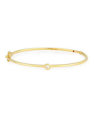 Gold Clasp Bangle Neiman Marcus