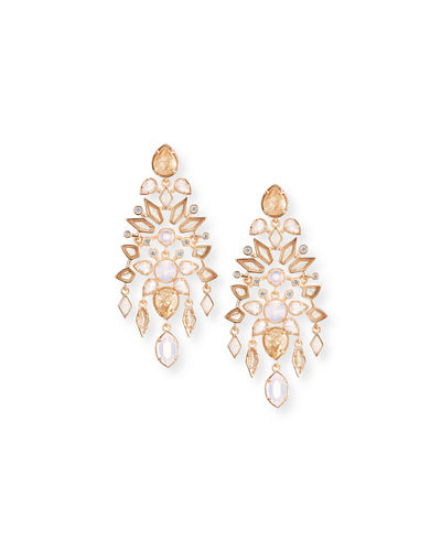 Kendra Scott Aryssa Mosaic Chandelier Post Earrings