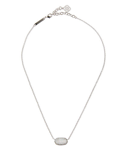 Kendra Scott Elisa Iridescent Druzy Necklace
