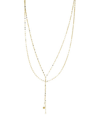 Lana Petite Blake Layered Necklace in 14K Gold