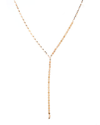Lana Jewelry 14K Gold Mega Dash Lariat Necklace VeBpe3Ip