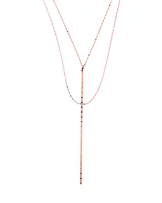 Image 1 of 3: Nude Blake Chain Drop Necklace