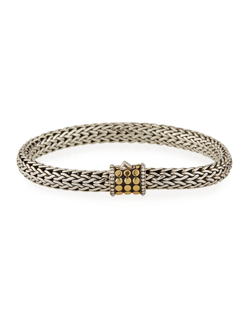 John Hardy Dot-Clasp Bracelet, Medium