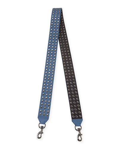 Rebecca Minkoff Flat Studded Leather Guitar Strap