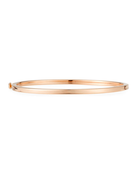 Roberto Coin Hinged 18K Gold Bangle Bracelet