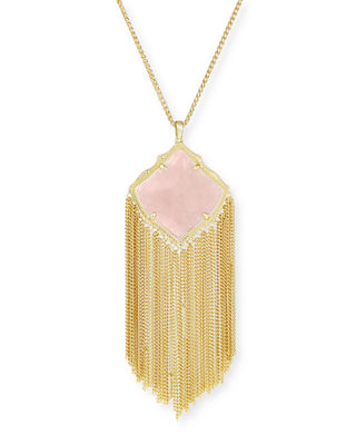 Kendra Scott Kingston Necklace in Yellow Gold Plate
