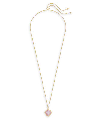 Kendra Scott Kacey Necklace in 14k Gold Plate