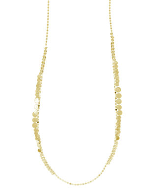 Freida Rothman 14k Cubic Zirconia Bloom Petal Fringe Necklace, 16-18