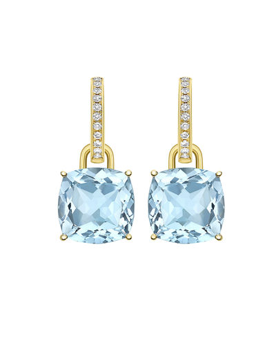Classic 18k Gold Detachable Drop Earrings