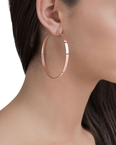 Wide Mega Lana Hoop Earrings