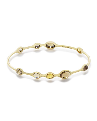 18k Gold Rock Candy® 9-Station Bangle
