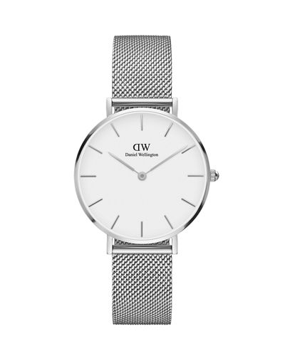 32mm Classic Petite Melrose Bracelet Watch w/White Dial