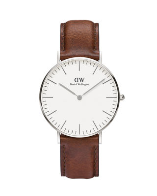 Classic St. Andrews Watch, 36Mm in Silver