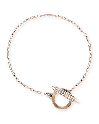 Cyn Mio Crystal Toggle Bracelet