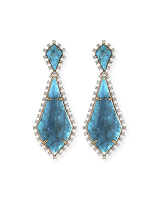 Image 1 of 3: August Statement Earrings