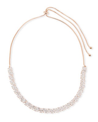 Image 1 of 2: Monarch Jagged Edge Crystal Necklace