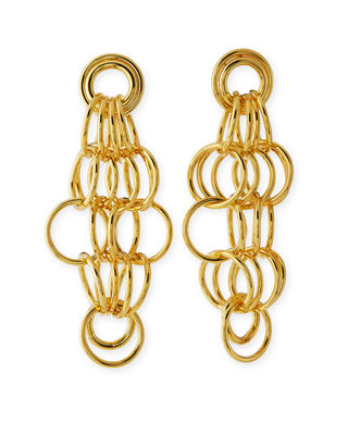 Loop Drop Statement Earrings