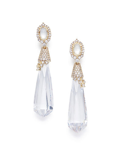 Kendra Scott Faye Crystal Statement Earrings