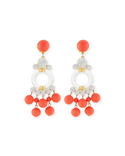 Boulevard Beaded Statement Earrings