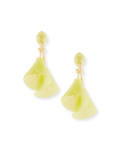 Calla Lily Statement Earrings