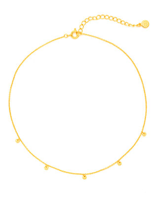 Five-Disc Choker Necklace