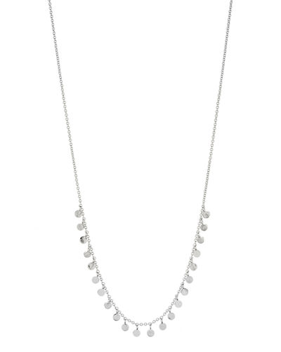 Chloe Mini Dangling Disc Necklace