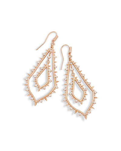 Kendra Scott Alice Cubic Zirconia Teardrop Earrings