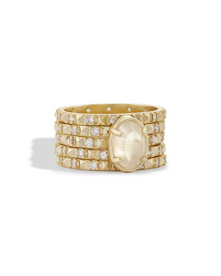 Reya Stacked Band Ring