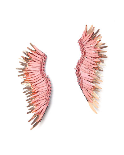 Madeline Beaded Statement Earrings