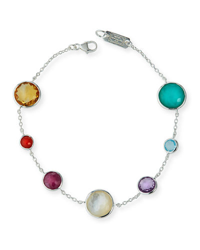 Lollipop 7-Station Bracelet in Eclipse