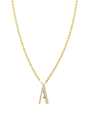 6cd5355dc Mini 3-Letter Personalized Necklace, 14k White Gold. $360. Monogram · Lana  Get Personal Initial Pendant Necklace with Diamonds