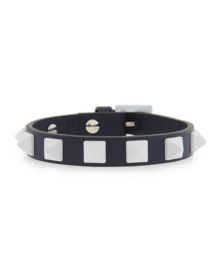 Free Rockstud Leather Bracelet