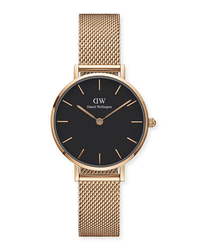 Daniel Wellington 28mm Classic Petite Melrose Bracelet Watch