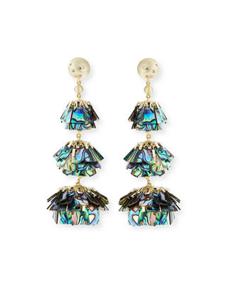 Kendra Scott Wesley Tiered Three-Drop Earrings