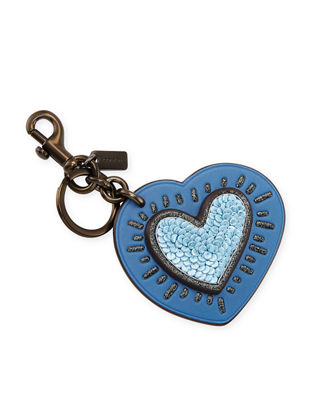 Coach 1941 x Keith Haring Heart Bag Charm