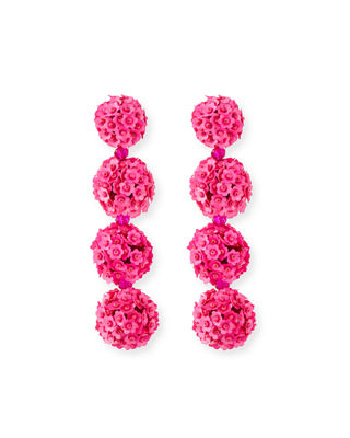 Sachin & Babi Mini Lulu Seed Bead Clip-On Earrings hDXHYS