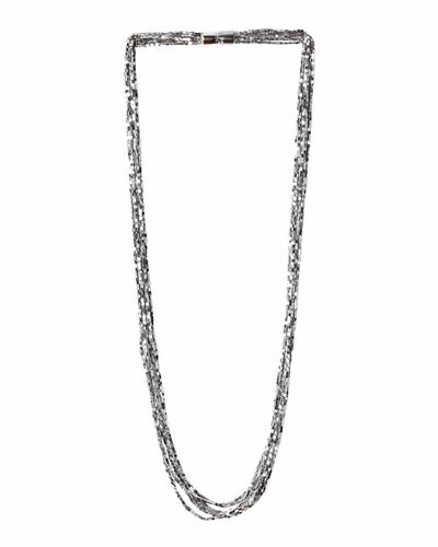 dna sterling collection long rhodium necklace neck strand p htm silver multi