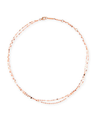LANA Blake Two-Strand Choker Chain Necklace