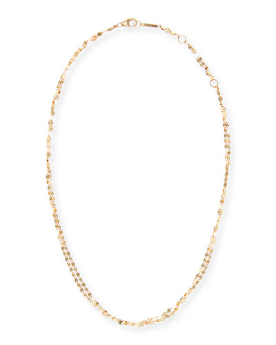 Blake Two-Strand Choker Chain Necklace