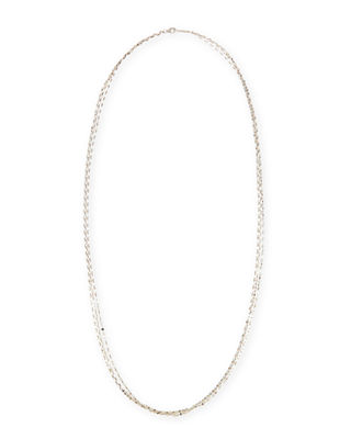 Lana Jewelry Blake Three-Strand Chain Necklace in 14K Gold, 30L