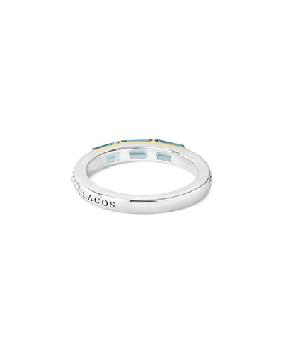 Three-Stone Stacking Ring