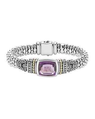 Caviar Color Large Station Bracelet