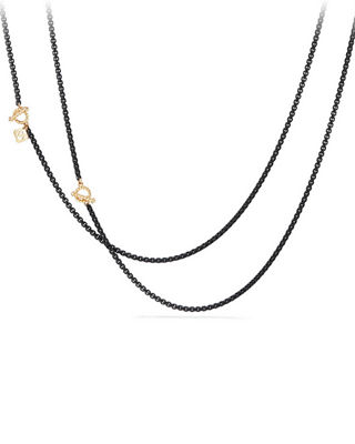 Bel-Aire Adjustable Enamel Chain Necklace, 41""