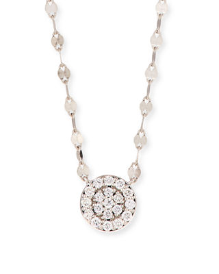 Lana 14k Flawless Diamond Pav?? Disc Pendant Necklace