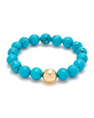 Power Gemstone Beaded Bracelet