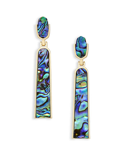 Carson Iridescent Statement Earrings